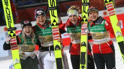 Saut à skis - Mondiaux (F) - L'Autriche championne du monde par équipes
