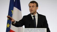 """Violences aux femmes: Macron ne veut pas """"un quotidien de la délation"""""""