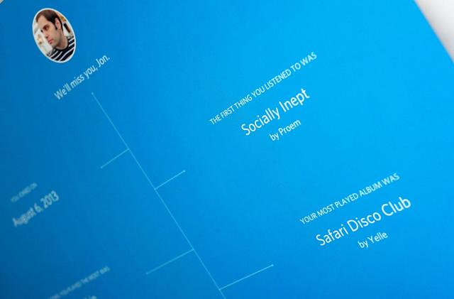 Rdio bids farewell with a look at your favorite songs (updated)