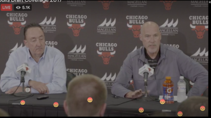 Bulls fans unload during Facebook Live session