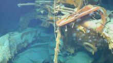Encuentran buque que se hundió en la Segunda Guerra Mundial