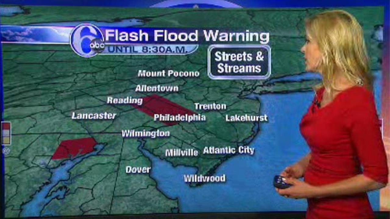 AccuWeather: Flash Flood Warning for Philadelphia