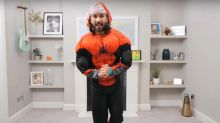 Joe Wicks sweats buckets after dressing as Spider-Man for daily PE lesson