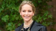 Jennifer Lawrence alugou quarto de hotel para seu vestido de noiva