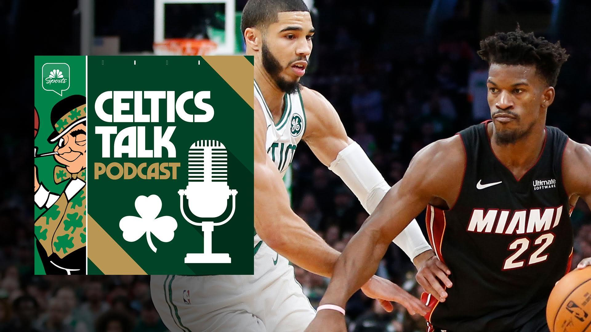 Celtics Talk Podcast Why Tom Haberstroh Is Taking The Heat Over The C S
