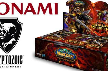 Cryptozoic and KONAMI team up for WoW TCG launch in Japan