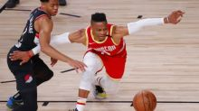 Rockets' Russell Westbrook to miss start of series with Oklahoma City