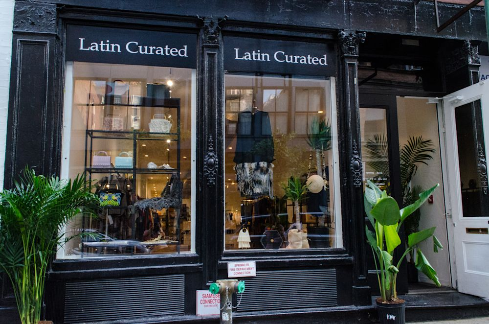 The Latin Curated retail and showroom space at 138 Wooster in New York. (Photo: Isabella Dorelli)