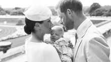 Meghan and Harry release two sweet photos to mark baby Archie's christening