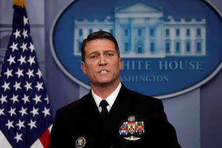 President picks personal physician for Vet Affairs Sec