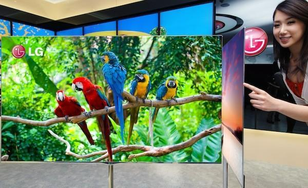 LG selected to develop 60-inch flexible OLED by 2017
