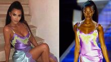 Kim Kardashian Responds to Claims That She's Copying Naomi Campbell's Famous '90s Runway Looks