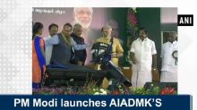 PM Modi launches AIADMK'S Amma scooter scheme for working women