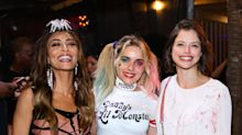 "Elenco de ""A Dona do Pedaço"" festeja Halloween"