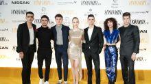 Las estrellas de 'Élite', protagonistas en los premios Woman 2018