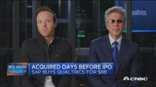 SAP CEO and Qualtrics CEO on SAP-Qualtrics deal