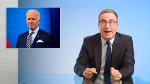 John Oliver calls out Biden for not signing refugee reform: 'Pick up a f***ing pen'
