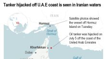 Tanker off UAE sought by US over Iran sanctions 'hijacked'