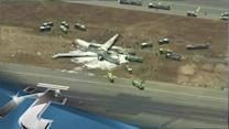 SEOUL Breaking News: 2 Dead in Plane Crash Landing
