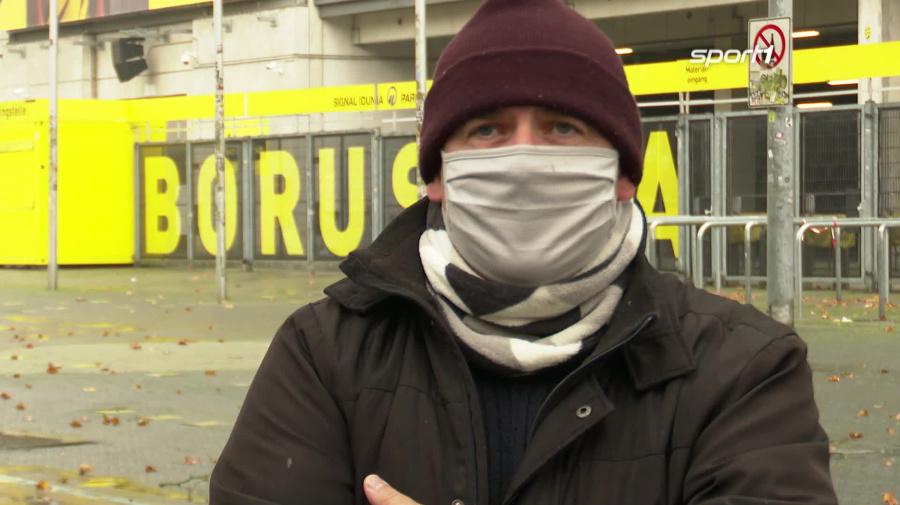 So ist die Stimmung und Dortmund und auf Schalke vor dem Revierderby