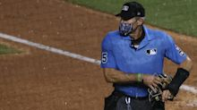 Baseball is back, and umpire Angel Hernandez is already drawing fans' ire