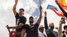 """""""Fuera Wanda"""": Ricky Martin vuelve a la política y pide la renuncia de la gobernadora de Puerto Rico"""