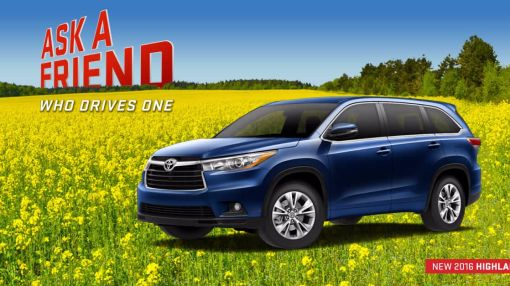 Checkout the New Look of the 2016 Highlander