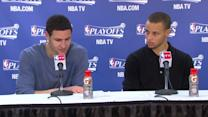 Press Pass: Curry and Thompson