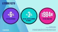 Viacom Reports Third Quarter Results