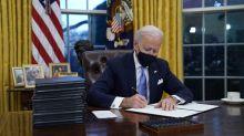 Biden ordena proteger a 'dreamers' y detener la construcción del muro con México