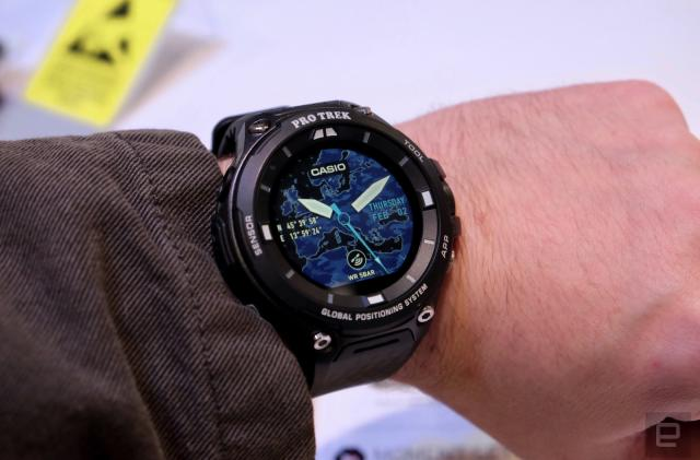 Casio's new smartwatch is a chunky beast made for the outdoors