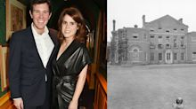 How Princess Eugenie's wedding reception venue compares to Harry and Meghan's