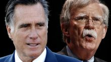 Romney says Bolton revelations make it 'increasingly likely' Senate will call witnesses
