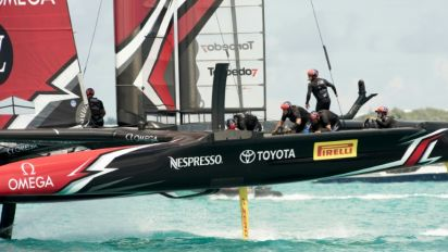Dalton says America's Cup won with damaged boat