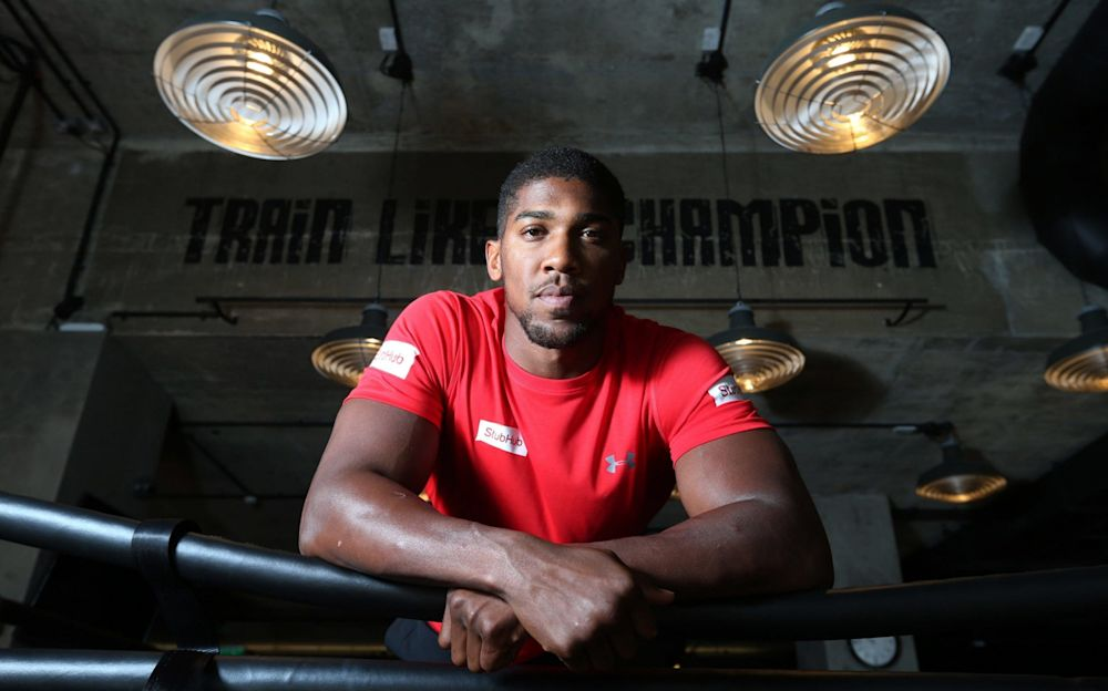 Anthony Joshua has a new opponent on Oct 28, Carlos Takam - PA