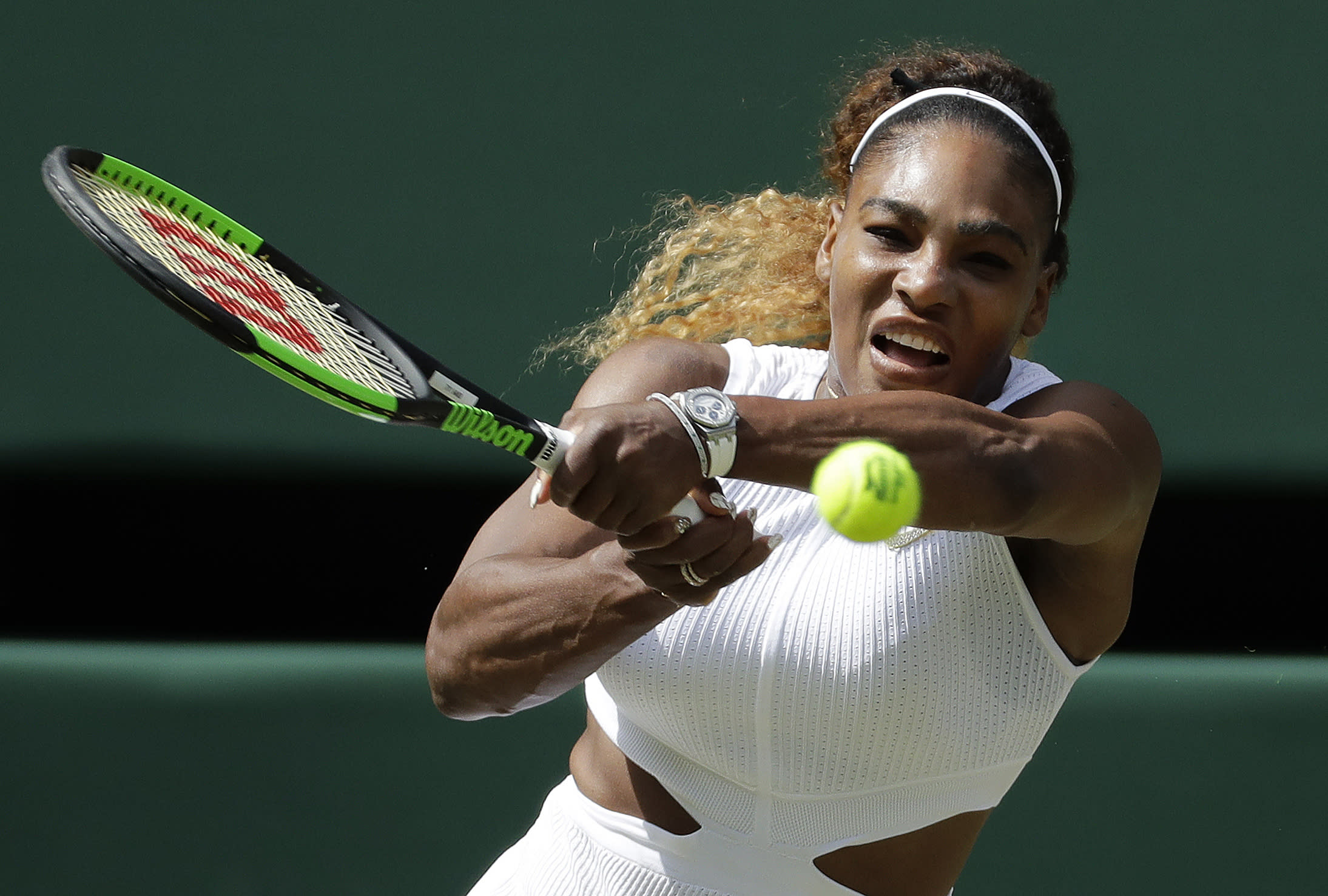 Wimbledon Glance: Serena Williams vs. Simona Halep in final