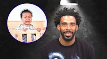 Star point guard interrogated about his sneaky parenting strategy