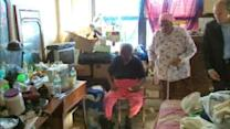 93-year-old woman is living in frightening conditions