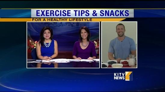 Chris Powell gives us his exercise and food tips