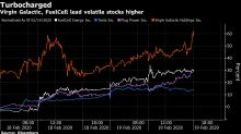 Options Market Darlings Virgin Galactic, Plug Power Are Surging Again