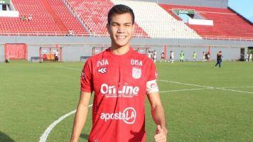 El delantero paraguayo Pablo Martínez acordó con Lanús