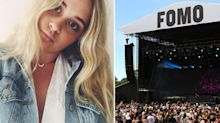 Teen's tragic words to friend before festival overdose death