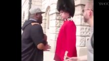 Is Queen's Guard punching real?
