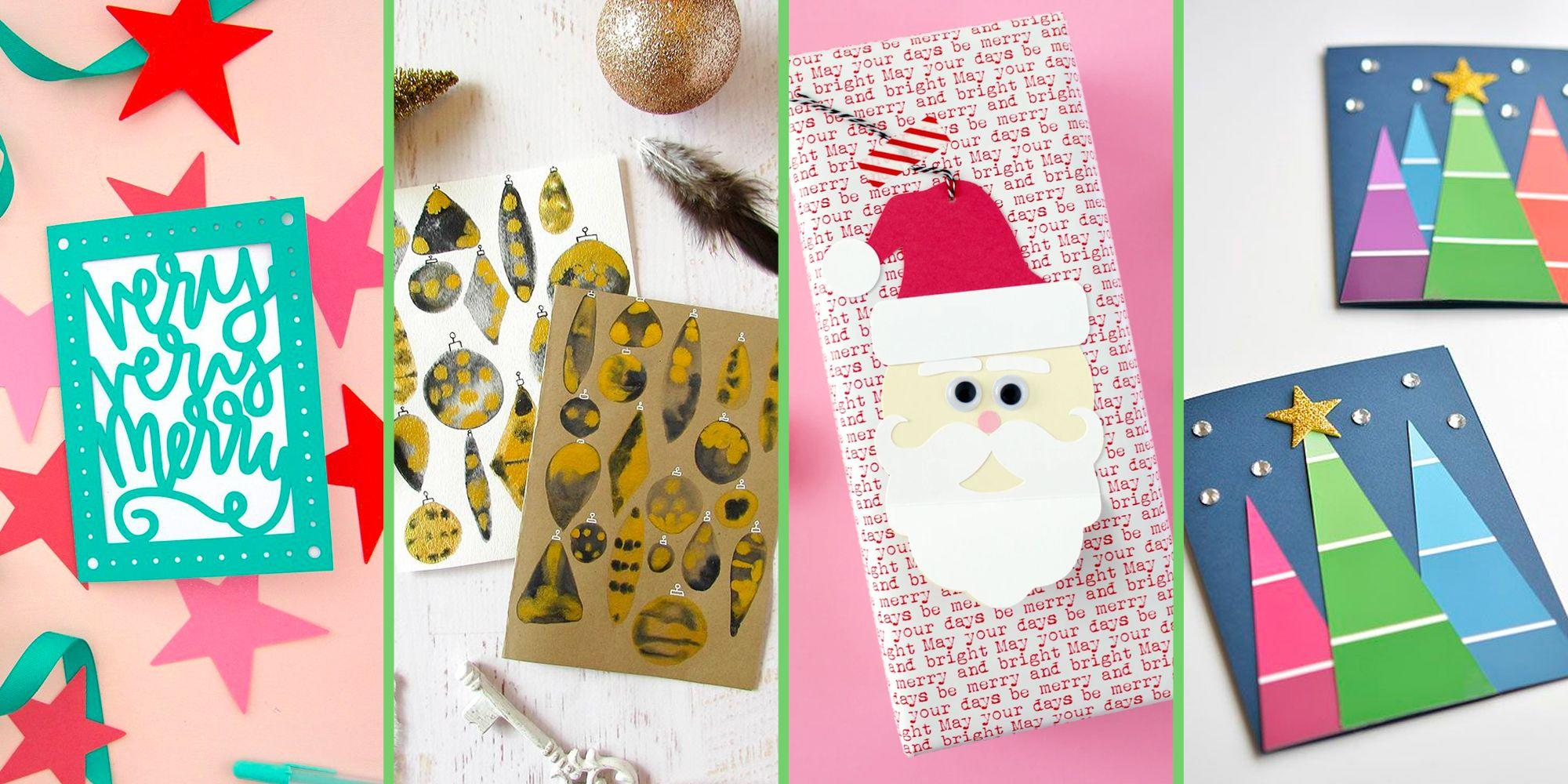 Photo of 40 Beautiful DIY Christmas Cards You Can Easily Make at Home
