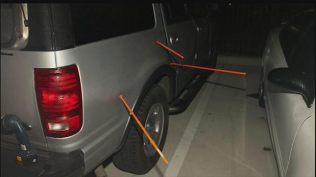 Photos show close call in girl's drive-by shooting