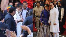 Ambani-Piramal Wedding: Priyanka-Nick & Other B'Town Celebs Arrive