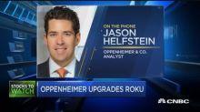 Oppenheimer upgrades Roku