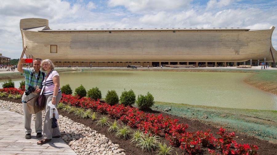 Noah's Ark replica owner sues over rain damage