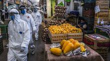 El mercado del epicentro del epicentro de la pandemia en México