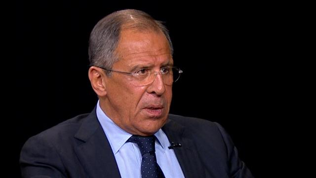 Russian foreign minister on alliance with Syria
